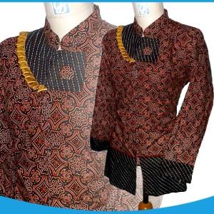 blouse batik kerah shanghai