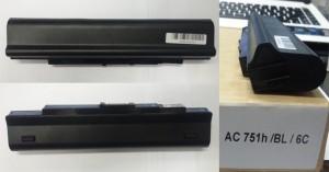 Baterai Laptop Acer Aspire One AO531 - AO531H - AO751 Series Original