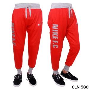 Jogger Pants Pria Baby Terry Merah  CLN 580