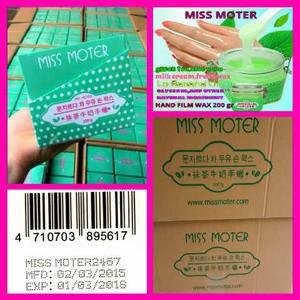 Miss Moter Matcha Hand Wax Ready