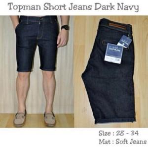Topman Short Jeans Dark Navy !