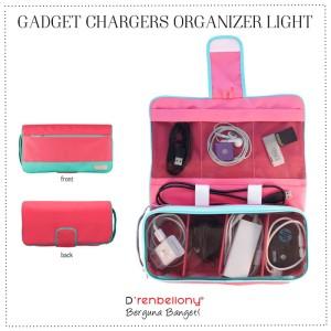 Gadget Chargers Organizer Light D'renbellony - Magenta Green