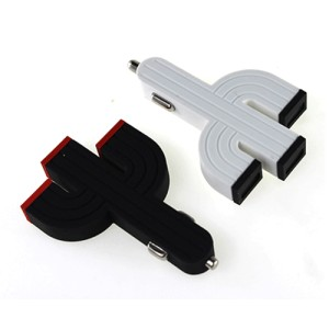 Cactus Triple USB Car Charger for Smartphone and Table PC OMRS09WH
