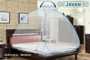 javan bed canopy natural series king size 180 x 200 / kelambu jepang