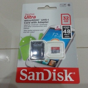 Memory Sandisk Micro Sd Ultra 32GB Class 10 Speed 48 Mbps