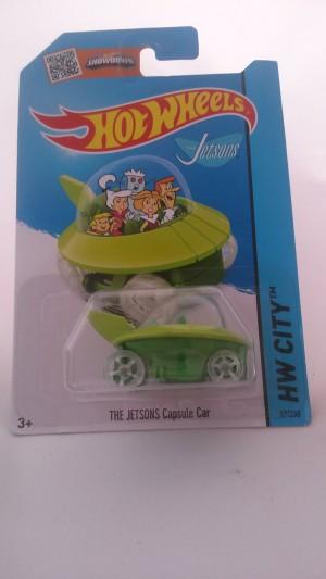 Hot wheels THE JETSONS CAPSULE CAR
