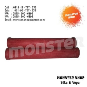 Hand Grip Livery Track Long Red