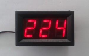 AC220V Voltmeter Module Red 70V~500V / Volt Meter AC220V Modul Merah