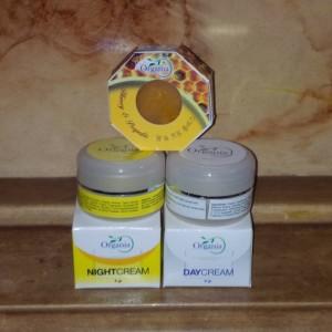 Cream Organia - Krim Organia - Paket Cream Pemutih Wajah Organia