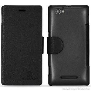 Sony Xperia M Nillkin Fresh leather case c1905