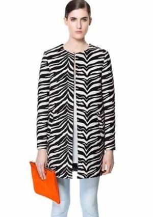 Jacket - Zebra Long Coat - WJ WST 7205