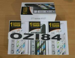 IPHONE 4S 64GB GARANSI 1 TAHUN THE ONE