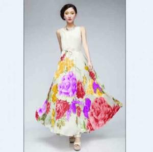 Beauty Florist Dress v
