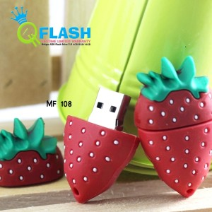 Usb Unik Strawberry 4gb
