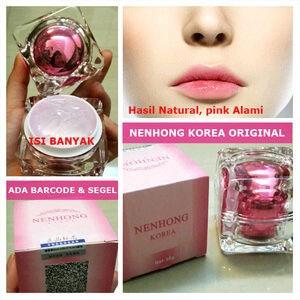 Nenhong Pemerah Bibir 100% Natural