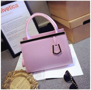 Tas import KT20907 Pink dan Black