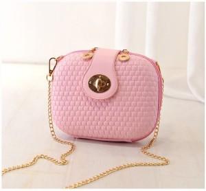 Tas import KT20906 Rice White dan Pink