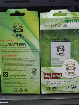 S5660 BATERAI DOUBLE POWER RAKKIPANDA GALAXY GIO