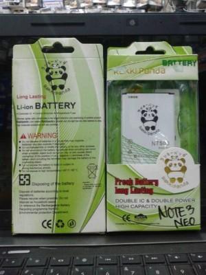 BATERAI DOUBLE POWER RAKKIPANDA SAMSUNG GALAXY NOTE 3 NEO N7508