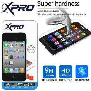 Anti Gores Kaca XPro Tempered Glass Protector iPhone 4 - 4S murah