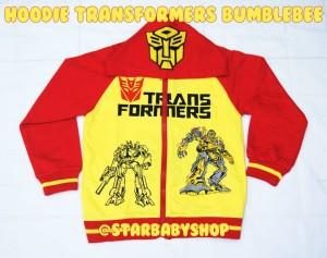 Hoodie Transformers Bumblebee