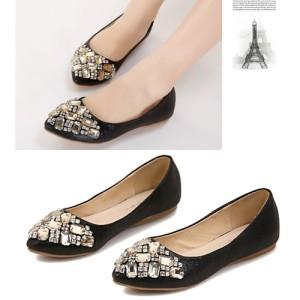 Sepatu Wanita Color White korea Impor SH1024