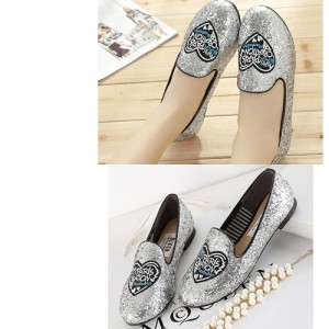 Sepatu Fashion Wanita Color SILVER SH658
