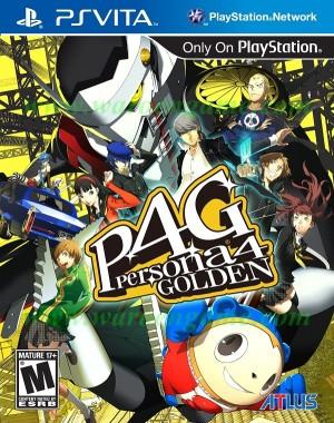 PSVita Persona 4 Golden