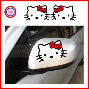 Sticker Spion Hello Kitty Red
