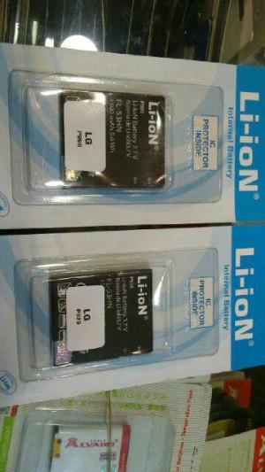 Baterai Fl-53hn LG Optimus 2x 3D Su660 P999 P920 P990 P993 1500mah