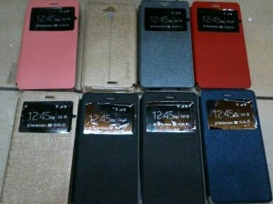 Leather Flip Case Andromax R
