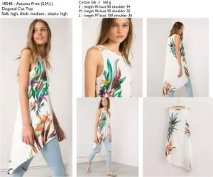 Atasan Import, Diagonal cut, Autumn, Cotton Silk, Lookbook, Murah