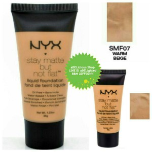 NYX Warm Beige (SMF07) - Stay Matte But Not Flat Liquid Foundation