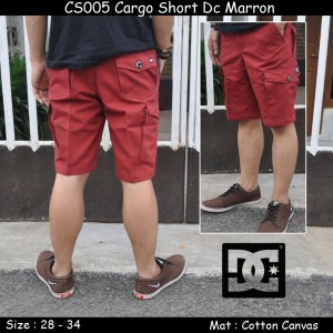 CS005 Cargo Short Dc Marron