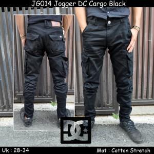 JG014 Jogger DC Cargo Black