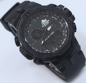 Jam tangan D ziner original black double time