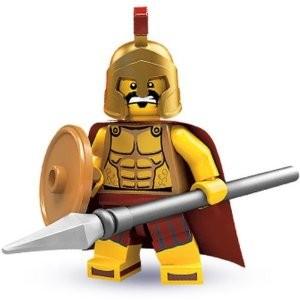Lego Minifigures SPARTAN WARRIOR - Minifigures Series 2