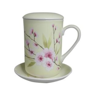 St James Mug Set Blossom Yellow - 325 ml