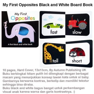 My First Opposites Black and White Board Book (US-BBY-BRD-FOBW)