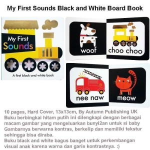 My First Sounds Black and White Board Book (US-BBY-BRD-FSBW)
