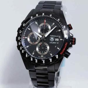 jam tangan Tagheuer F1 Cal 16 Black