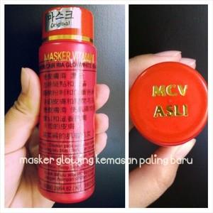 Masker Cair / Masker Vitamin/Masker Glowing BPOM 18090206482 Original