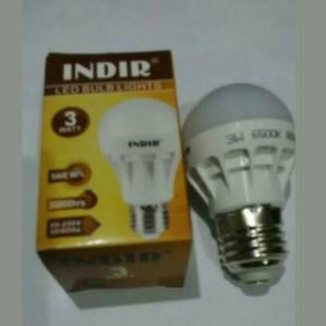 Lampu bohlam LED Indir 3W (Save Energy sampai 90%)