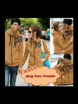 Jacket / Sweater Korea QingLuoc Browny Couple