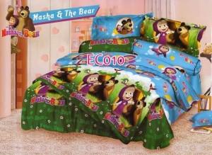 Bedcover Set Masha and The Bear uk.120 t.25cm