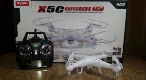 Heli Syma X5C Quadcopter Drone Explorers 2.4G 4CH HD cam / kamera