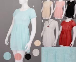 Dress impor Lace berkualitas halus