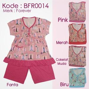 BFR0014 Babydoll kaos pendek,celana pendek merk forever