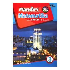 Jual BUKU SOAL MANDIRI MATEMATIKA KELAS 9 SMP ERLANGGA KTSP 2006  GEDEBOOK SHOP  Tokopedia