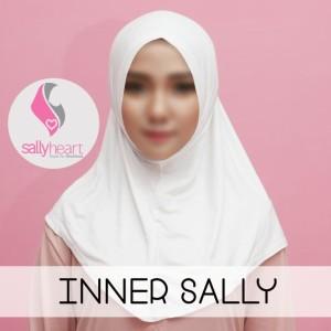Inner (dalaman jilbab) anti telinga sakit .
